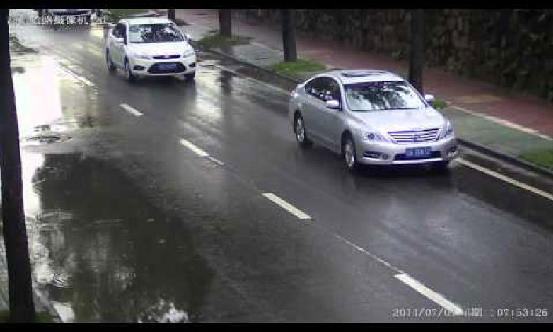 cctv footage used as evidence for number plate cloning